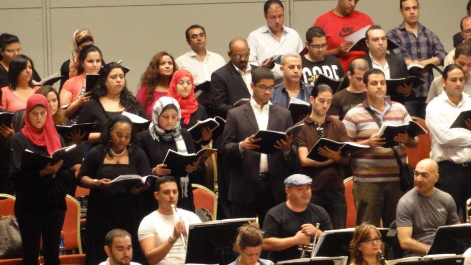 Na zkoušce orchestru