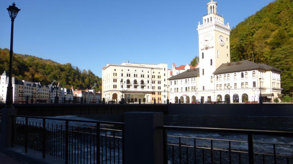 Starší stavby v  Soči