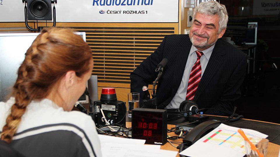 František Rypáček, ředitel Ústavu makromolekulární chemie AV ČR