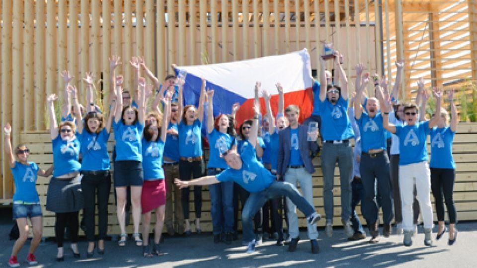 Tým ČVUT se vyhrál 3. místo v soutěži Solar Decathlon 2013 s projektem AIR HOUSE