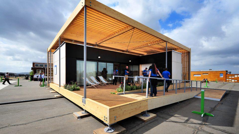 AIR House zvítězil v kategorii Architektura na mezinárodní soutěži Solar Decathlon 2013