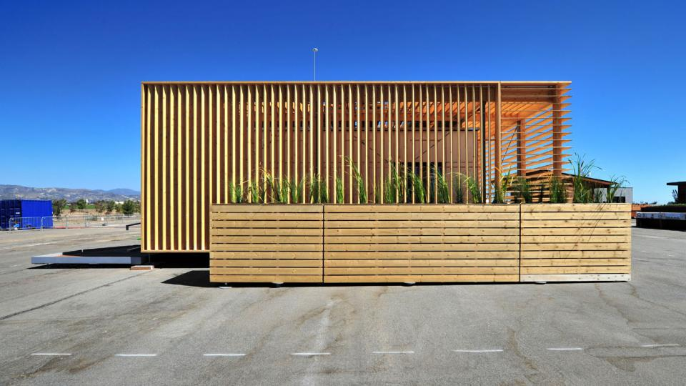 AIR House je energeticky soběstačný dům, se kterým tým studentů ČVUT získal 3. místo v soutěži Solar Decathlon 2013
