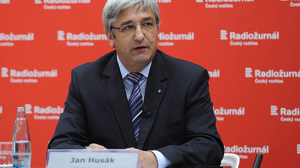Předvolební Speciál Martina Veselovského na téma energetika, Jan Husák