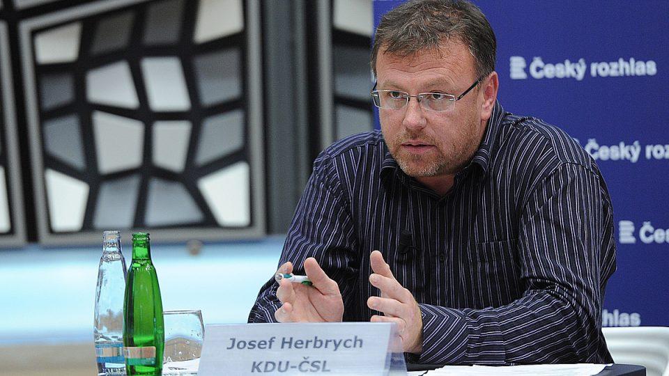 Předvolební Speciál Martina Veselovského na téma energetika, Josef Herbrych