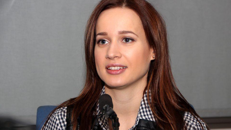 slovenská zpěvačka Kristina