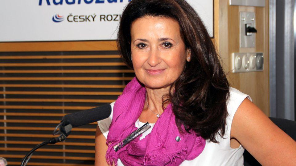 Advokátka Dagmar Raupachová byla hostem Radiožurnálu