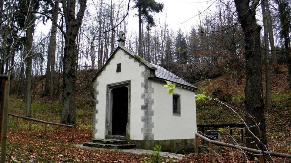 Kaple Nejsvětější Trojice u Maršíkova zrenovovaná Kleiny