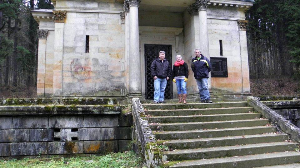 Mauzoleum v Sobotíně - Aleš Spurný, Petra Ševců, Drahomír Polách