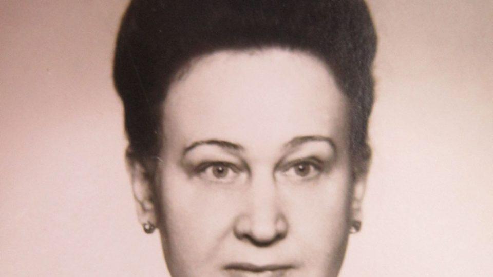 Juliána Lápková v 70. letech
