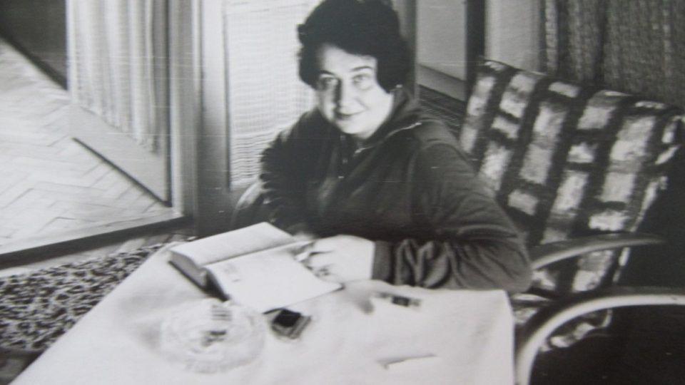 Juliána Lápková v osmdesátých letech