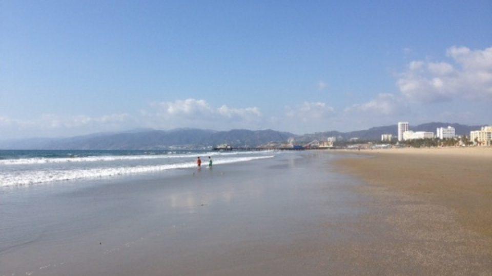 Kalifornské pláže