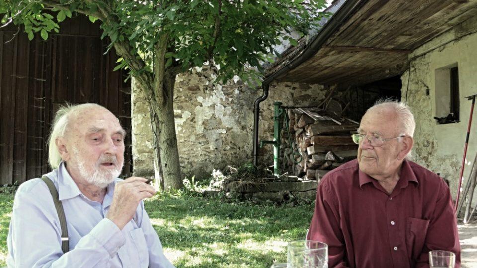 Zbyněk Hejda a Daniel Reynek