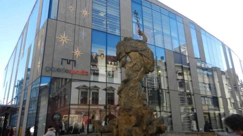Merkurova kašna v Olomouci