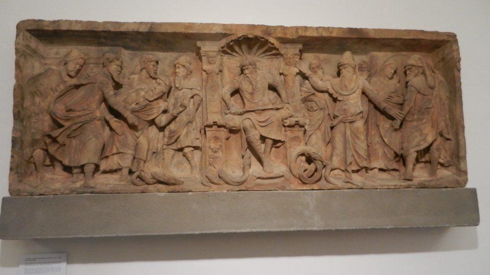Renesanční reliéfy ve Vlastivědném muzeu v Olomouc