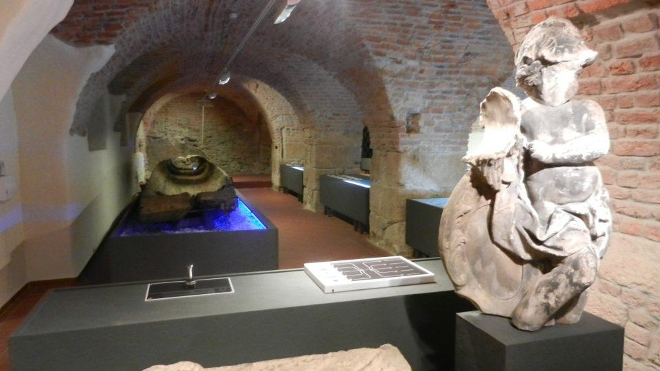 Stálá expozice Příběh kamene ve Vlastivědném muzeu v Olomouci