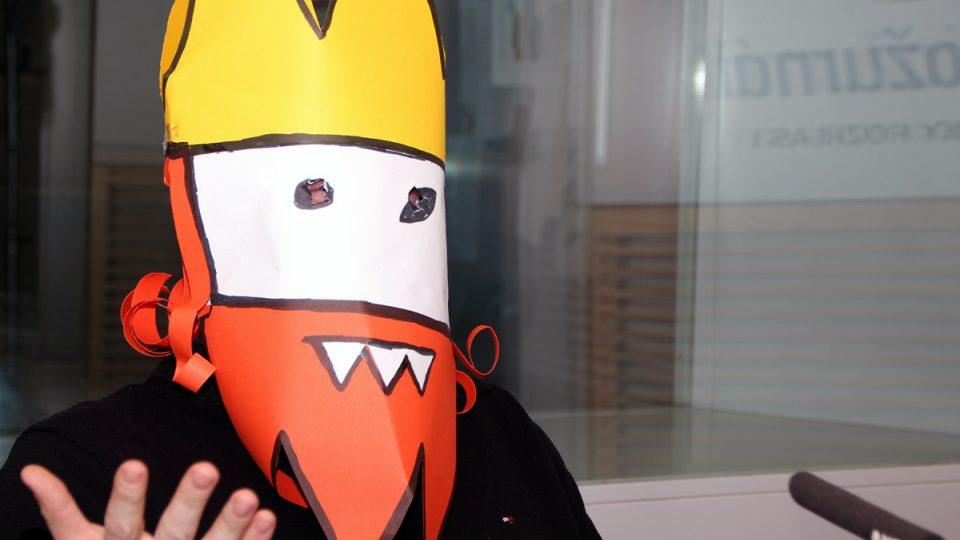 Proč chce zůstat v anonymitě? I na tuto otázku odpověděl Jaz, tvůrce Oprásků sčeskí historje