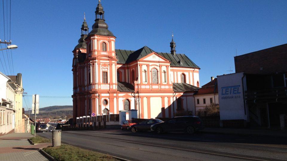 Největší barokní kostel mimo Prahu