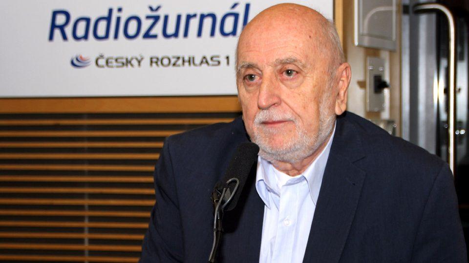 František Polák byl hostem silvestrovského vysílání Radiožurnálu