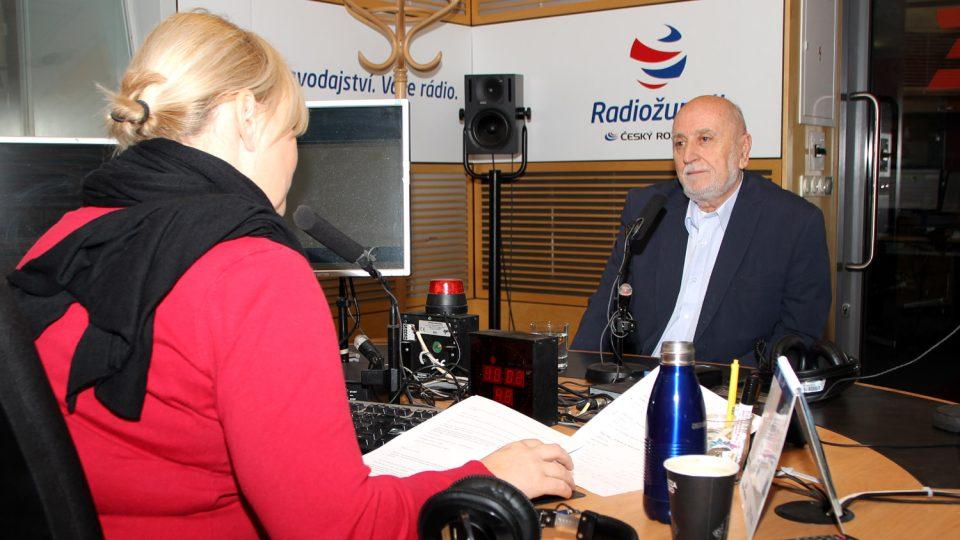 František Polák odpovídal na otázky Patricie Strouhalové