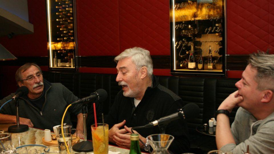 Pavel Zedníček, Jan Rosák a Aleš Háma