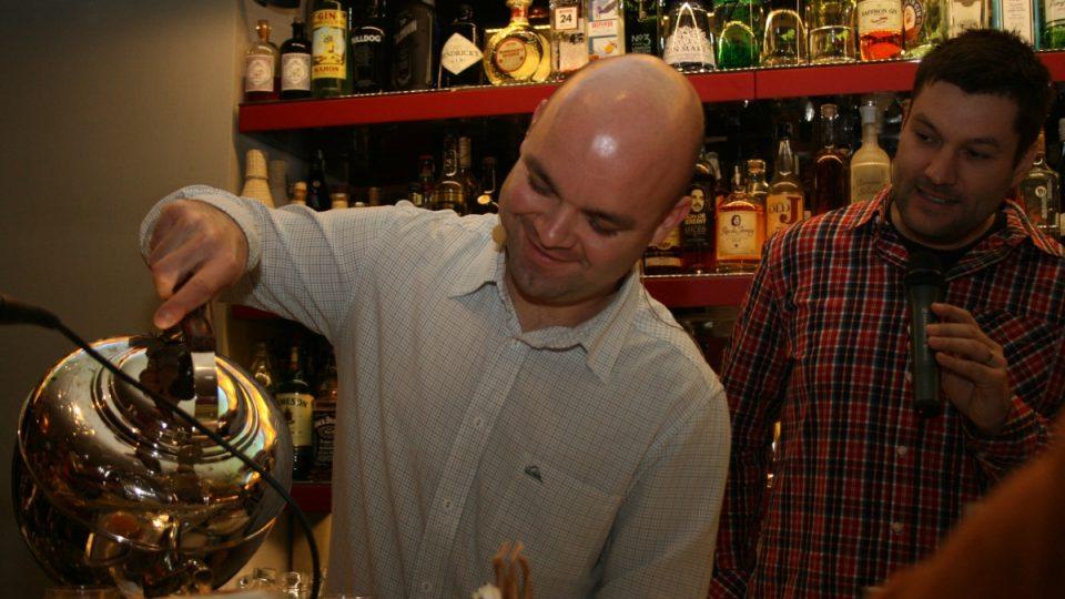 Barman Honza Braniš
