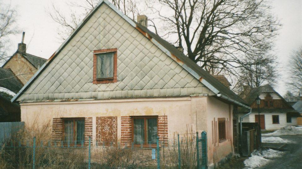 Domek č. p. 561 v 90. letech 20. století
