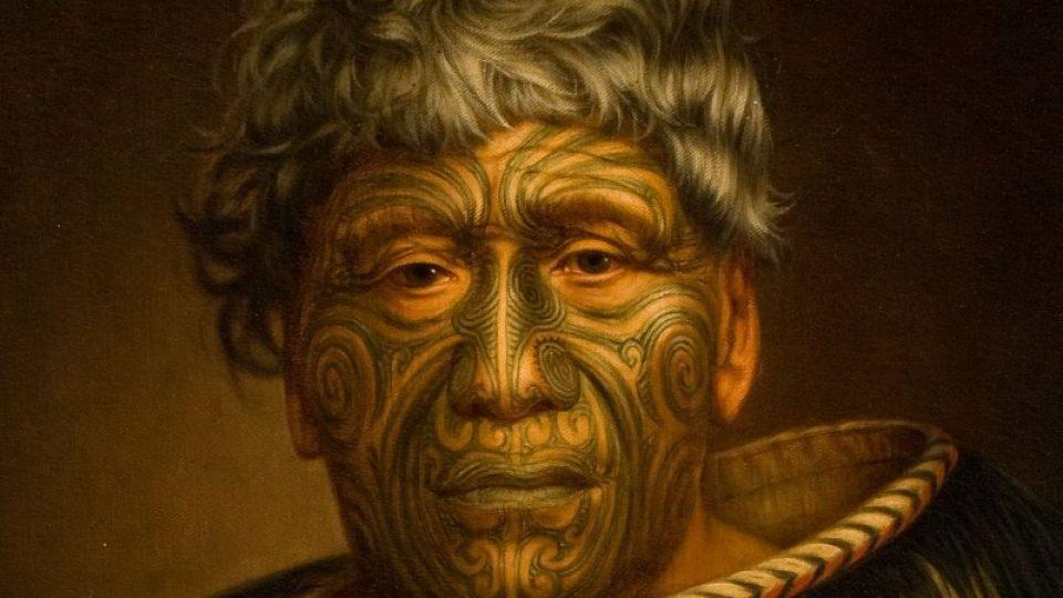 Obraz Gottfrieda Lindauera z Nového Zélandu