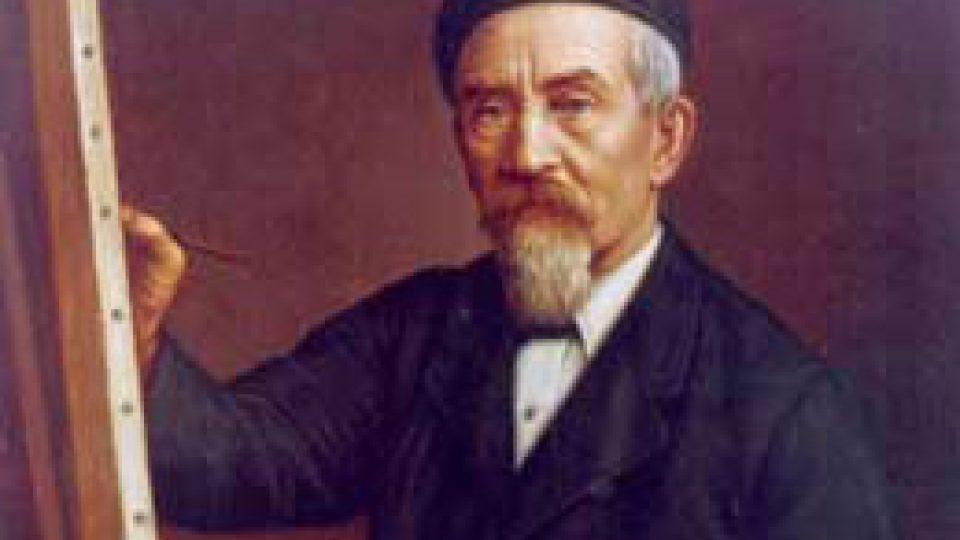 Gottfried (Bedřich) Lindauer, autoportrét