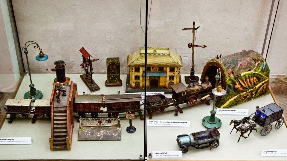 Historické hračky pro děti