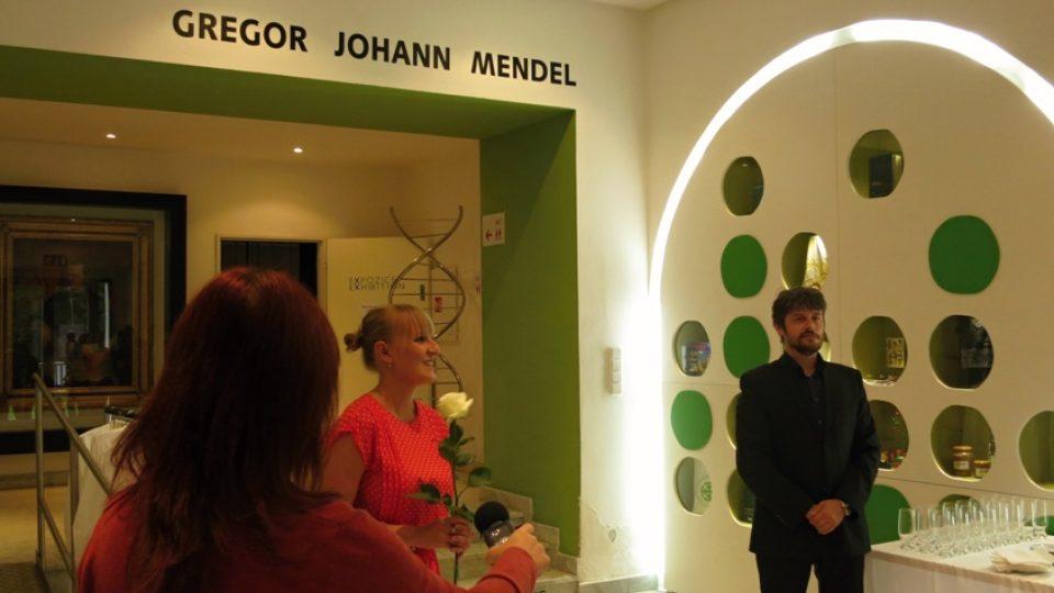 Uvedení výstavy v Mendelově muzeu
