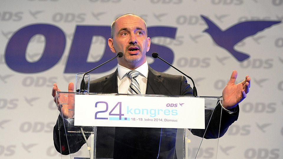 V úvodu kongresu vystoupil úřadující předseda ODS Martin Kuba