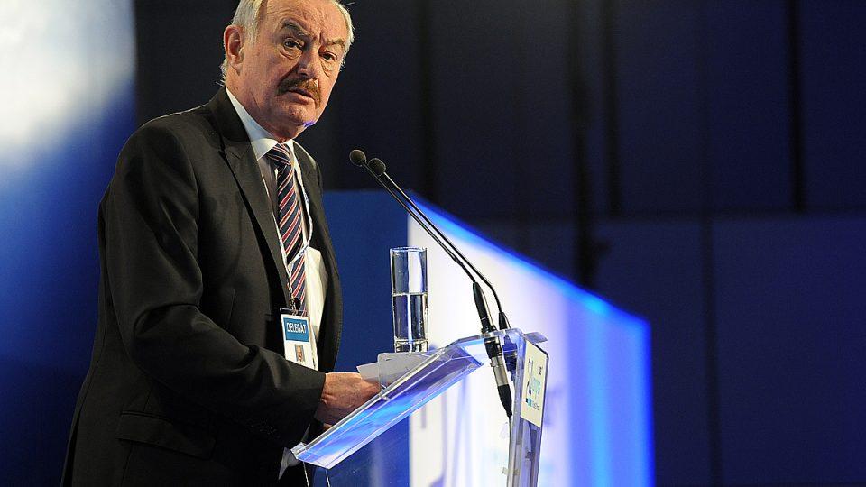 Přemysl Sobotka hovoří na volebním kongresu ODS