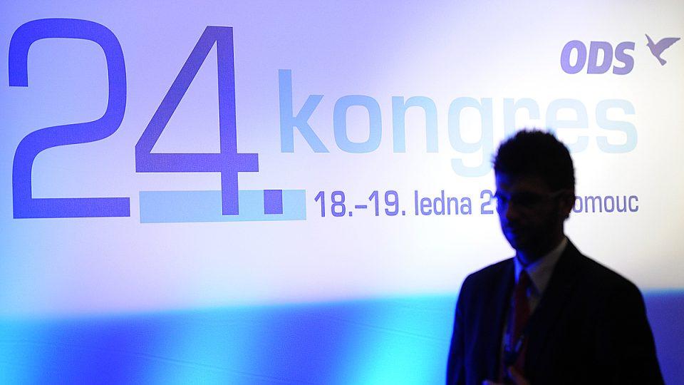 Volební kongres ODS v Olomouci vybírá nové vedení