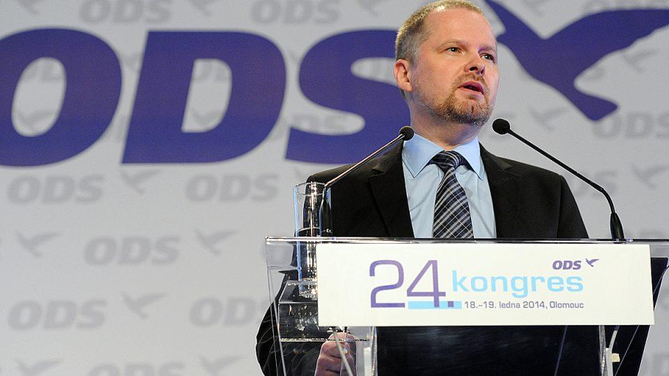 Kongres ODS v Olomouci, Petr Fiala