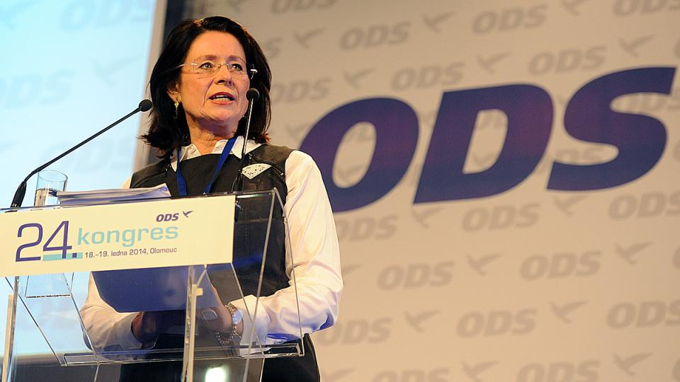 Kongres ODS v Olomouci, Miroslava Němcová