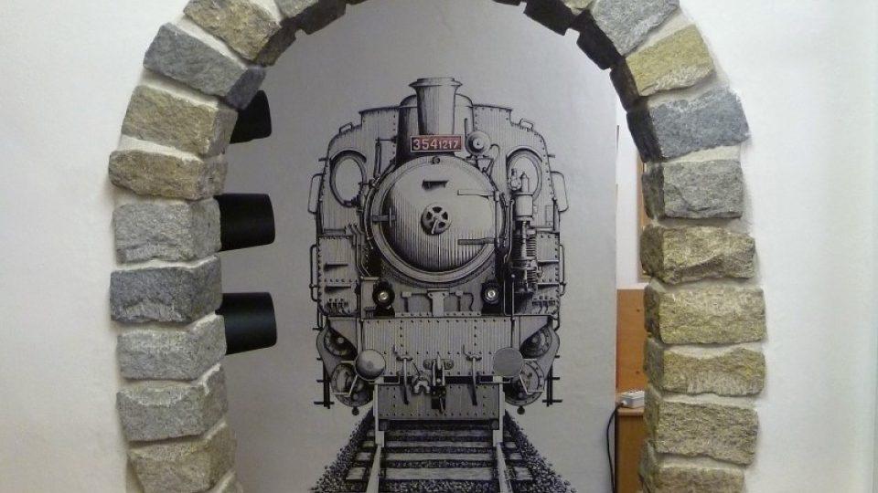 Tunelový vstup do Modelového království