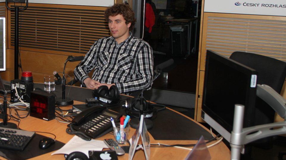 Student Vojtěch Ciml, autor unikátní aplikace