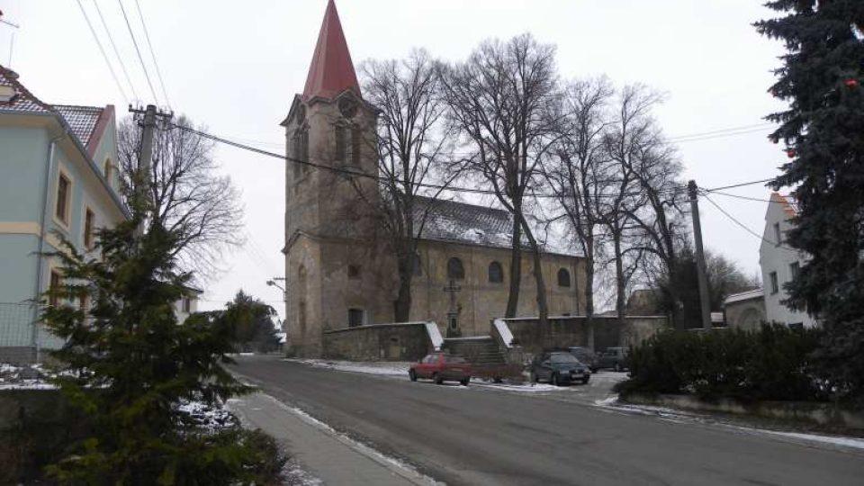 Hoříněves - kostel sv. Prokopa