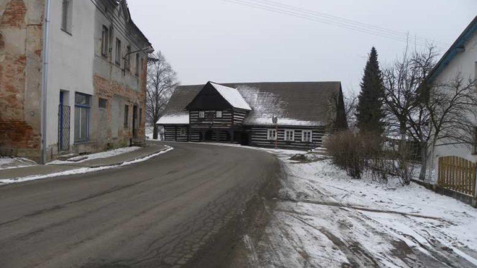 Hoříněves - rodný dům Václava Hanky