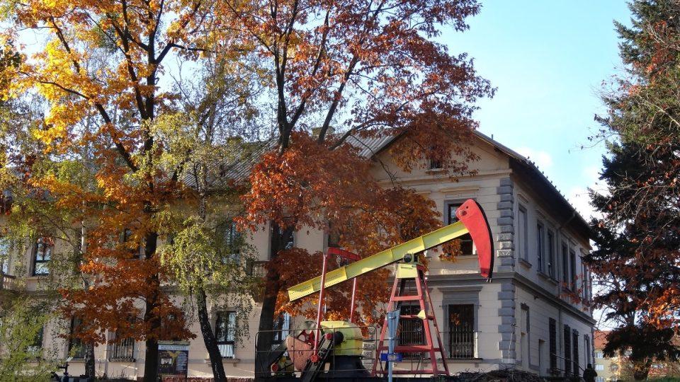 Areál Muzea naftového dobývání a geologie