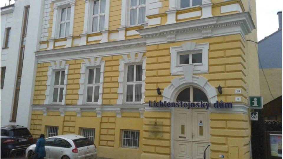 Lichtenštejnský dům v Břeclavi