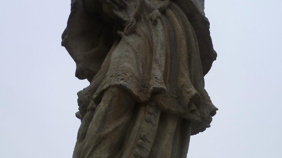 Svatý Jan Nepomucký na mostě v Brtnici
