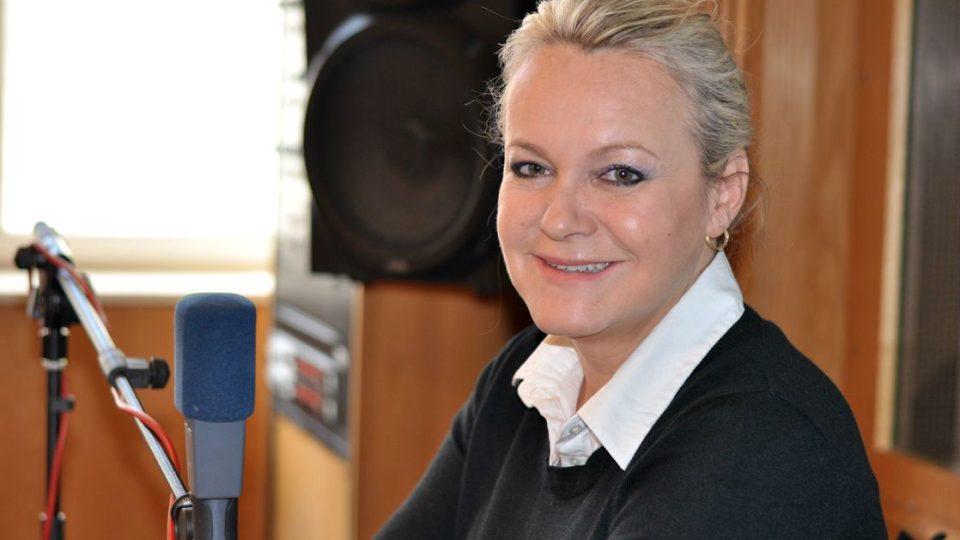 Producentka a moderátorka Lenka Hornová