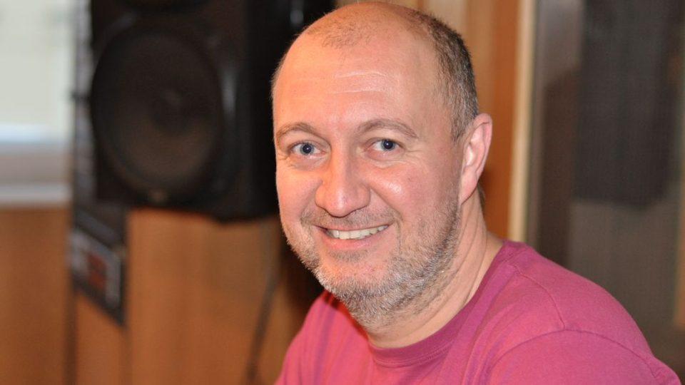 Moderátor Pavel Svoboda