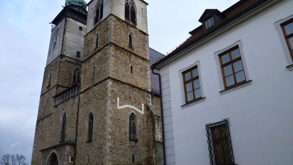 Kostel svatého Jakuba, ve kterém je i sladovnická kaple