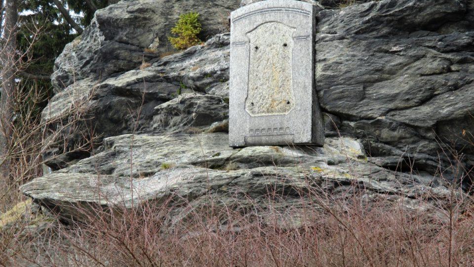Původní podklad Bismarkova památníku