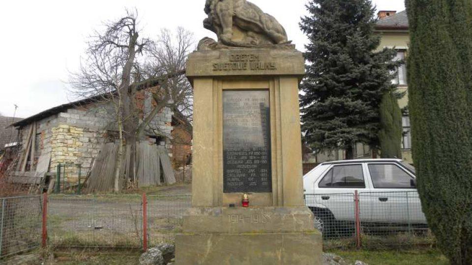 Peklo nad Zdobnicí - památník obětem války