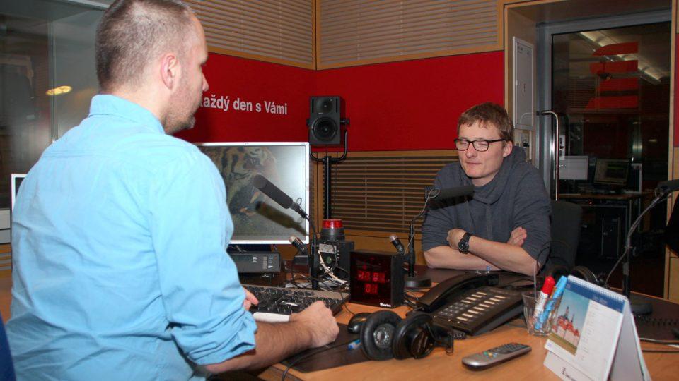 Producent Tomáš Hrubý odpovídal na otázky Martina Veselovského