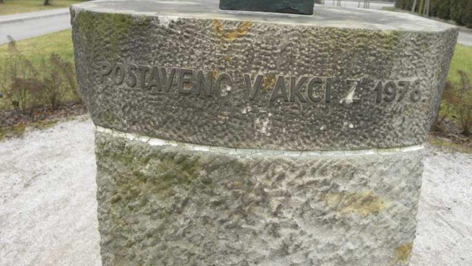 Ostroměř - Busta Eduarda Štorcha postavená v akci Z