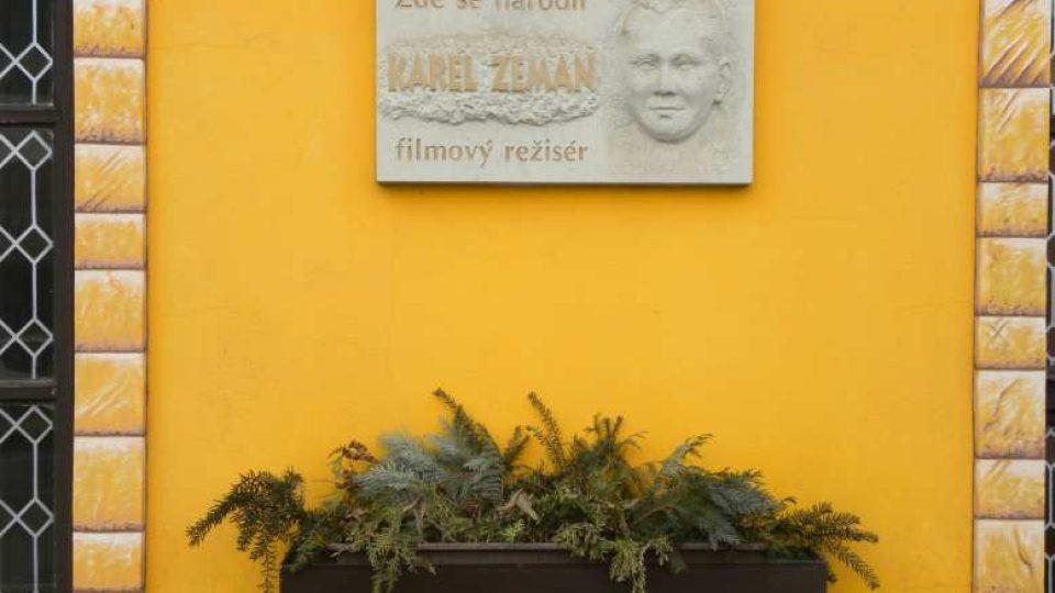 Ostroměř - rodný dům Karla Zemana